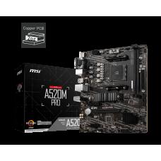 Материнская плата MSI A520M PRO [AMD A520 SAM4 MATX]