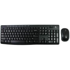 Комплект (клавиатура+мышь) Logitech MK270, беспроводной, черный [920-004518]