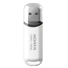 Флешка 16Gb ADATA Flash Drive AC906-16G-RWH, USB 2.0, Белый