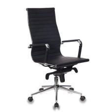 Кресло руководителя Бюрократ CH-883/BLACK черный искусственная кожа крестовина хром