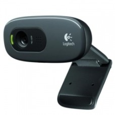 Веб-камера LOGITECH HD Webcam C270, черный [960-001063]