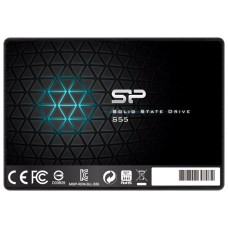 SSD диск 2.5 240Gb Silicon Power Slim S55 [SP240GBSS3S55S25]