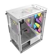 Корпус Powercase Mistral Micro Z3W Mesh, без БП, белый [CMIMZW-L3]
