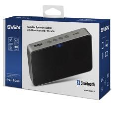 Портативная аудиосистема Sven PS-80BL черный