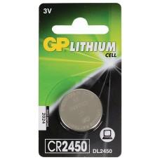 Батарейка GP Lithium CR2450 (1 шт ) [CR2450-BC1]