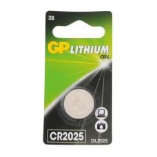 Батарейка GP Lithium CR2025 (1 шт ) [CR2025-8C1]