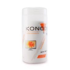 Чистящие средства Konoos KBF-100 Салфетки для ЖК-экранов в банке, 100 шт.